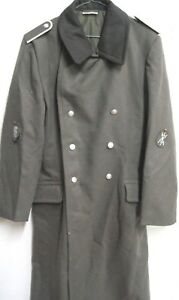Details zu NVA Uniform Wintermantel Gr . k44 Soldat Effekten Ähn .Wehrmacht Landser Film