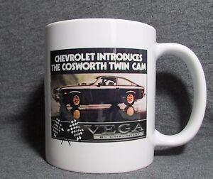 Chevrolet-Cosworth-Vega-Coffee-Cup-Mug-New-Classic-70-039-s-Sharp
