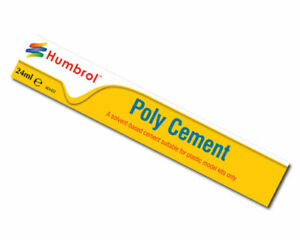 HUMBROL-Poly-Cement-Large-24ml-Tube-Adhesive-Glue