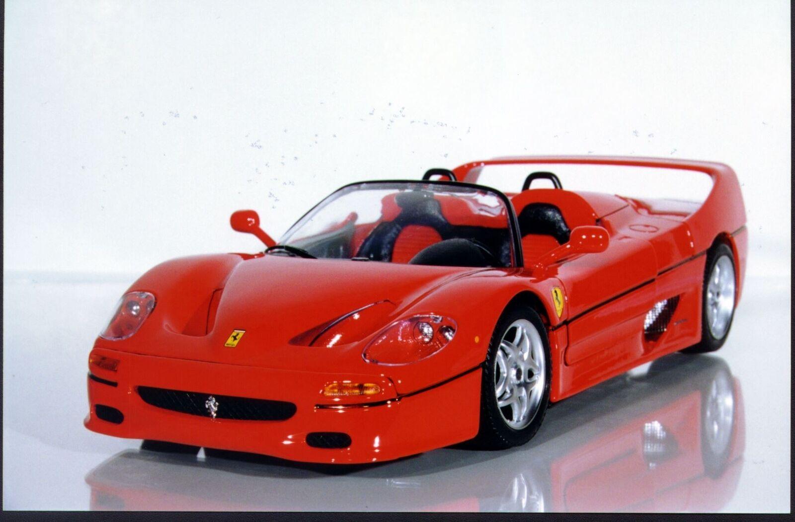 1 18 Bburago Ferrari F50 Barchetta Congreenible NIB