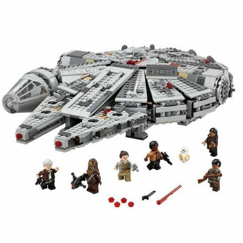 1381Pcs Compatible Star Wars Millennium 05007 Falcon Spacecraft Building Blocks