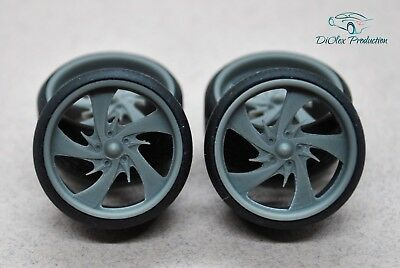 Models & Kits The Cheapest Price 1/24 Wheels 18 Inch Boyd Rogue With Stance Tires For Tamiya Aoshima Hasegawa