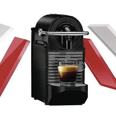 DeLonghi EN 126 Pixie Clips Weiß & Rot - Nespresso / Espresso