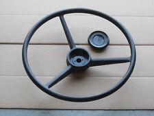 Steering Wheel And Cap For Ih International Industrial 140 3414