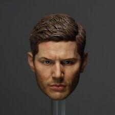 NEW Supernatural Dean Winchester HEADPLAY Jensen Ackles head carved 1/6 FIGURE