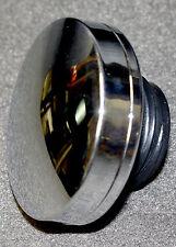 19404 Harley Davidson Left Fatbob Gas Tank Cap. Plastic W/ Chrome Finish 19404S2