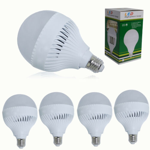 6//4//2er E27 ES 18W Glühbirne LED Leuchtmittel Kugellampe Lampe Birne Spot Licht