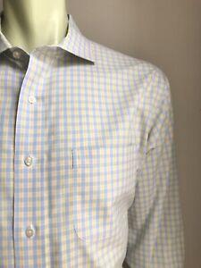 Brooks Brothers Shirt, Osmond Plaid, XL (17, 33), Regent / Slim, Exc Cond