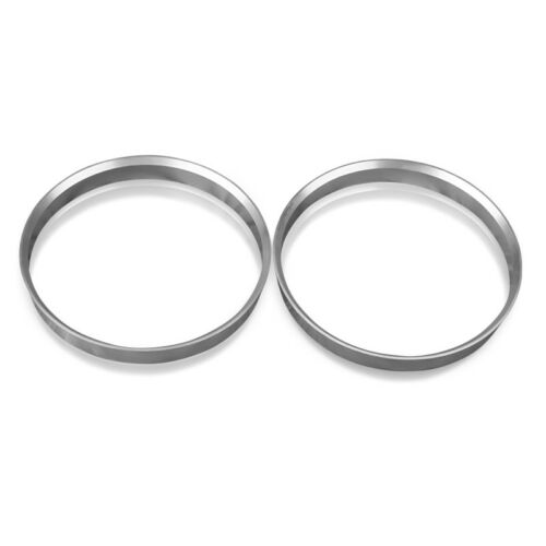 Set of 4 Aluminum hub centric rings 67.1mm to 54.1mm metal hubcentric ring 4pcs