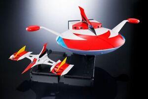 BANDAI-SOUL-OF-CHOGOKIN-DYNAMIC-CLASSIC-GX-76X-SPAZER-SET-TFO-UFO-ROBOT-GOLDRAKE