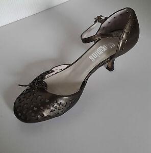 Leather Pumps Taglia Shoeping 38 in Farfalle bronzo P8OwWagqW