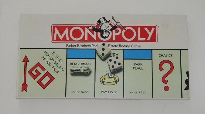 Parker Brothers Monopoly -  0009 Rare - Monopoly NEW In BOX 057318