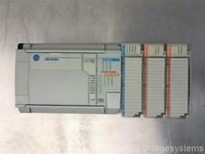 Allen Bradley Micrologix 1500 Withthree Various Modules