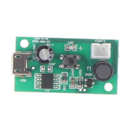 Air Humidifier Driver Board Mist Maker Fogger Ultrasonic Atomization Discs YK