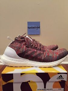 the best attitude 47c76 10714 Details about Adidas Consortium x Kith Aspen Ultra Boost Mid Multicolor  Ronnie Fieg BY2592