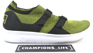 pick up 19257 1abc9 Image is loading NIKE-AIR-SOCKRACER-FLYKNIT-898022-700-YELLOW-STRIKE-