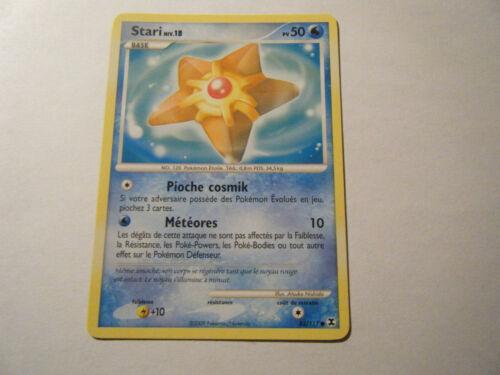 83//111 Niv.18-50PV Stari Pokemon Platine Rivaux Emergeants