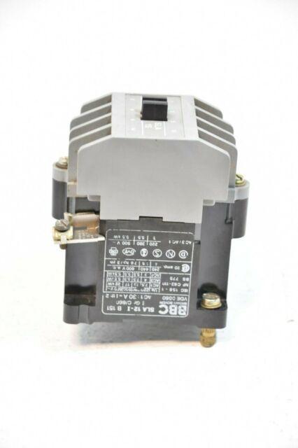 Cutler-Hammer Contactor 2 Pole 20 A 208//240V age C25BNB220B By Packard
