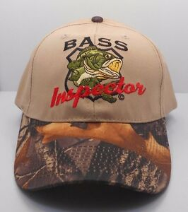 Nice Bass Fishing Camo Snapback Mesh Trucker Hat Cap Camouflage Fisherman