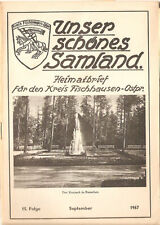 Unser schönes Samland - Königsberg Ostpreußen - Fischhausen Heft 15 / 1967