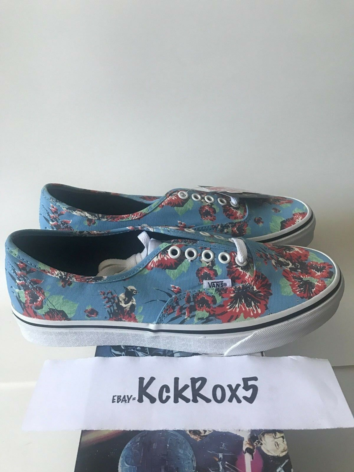 VANS STAR WARS AUTHENTIC YODA ALOHA 8-12 BOBA FETT NEW HOPE  SYNDICATE REPEAT