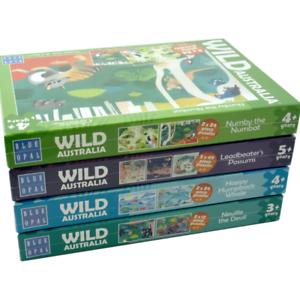 Australian Geographic Wild Australia kids jigsaw puzzles