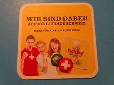BEER Bar COASTER ~*~ EICHHOF Bier ~^~ Luzern, Switzerland ~*~ Sports Enthusiasts