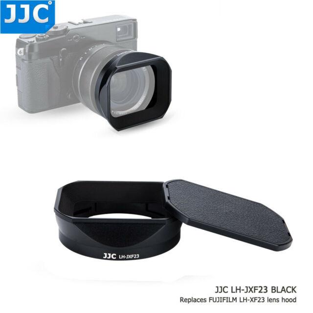 JJC Metal Lens Hood with Cap fr Fujifilm Fujinon XF 23mm F 1.4 R as Fuji LH-XF23
