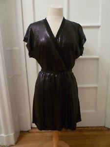 Banana republic black sequins dress