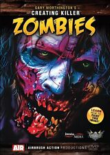 AIRBRUSH ACTION DVD - CREATING KILLER ZOMBIES WITH GARY WORTHINGTON