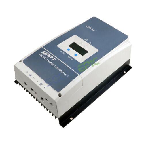 80A Epever MPPT Solar Charger Controller 12V//24V//36V//48V Battery Solar Regulator