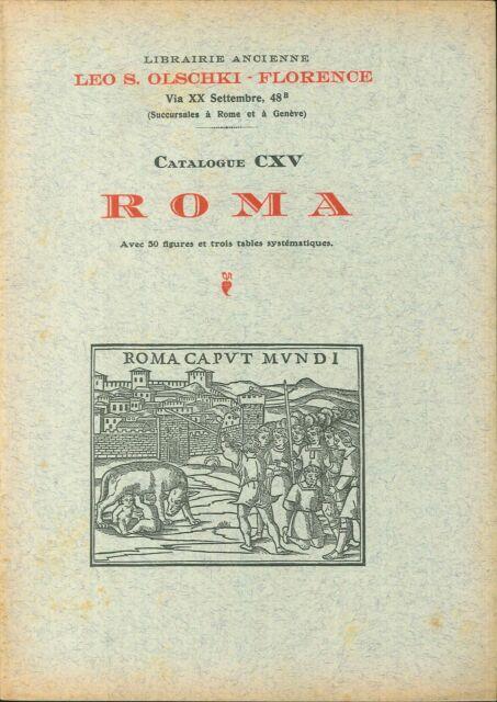 Choix de livres anciens rares et curieux. Vol. 11/2: Roma