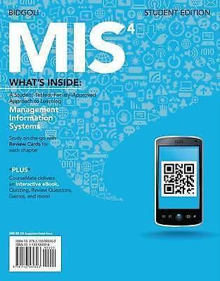 1 of 1 - MIS 4 by Hossein Bidgoli (Mixed media product, 2013)