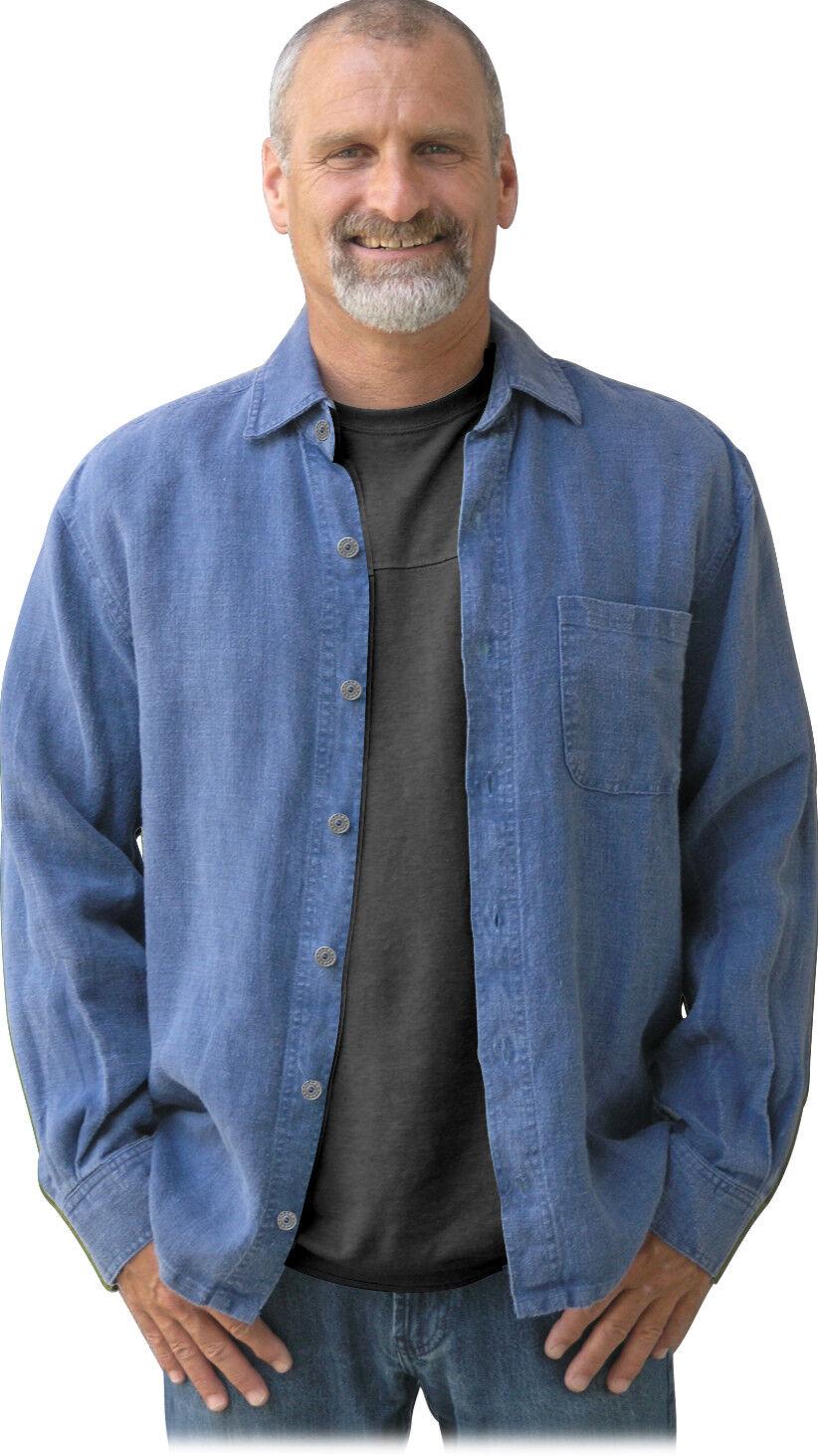 100% Hemp Sashmill  Linen  Shirt