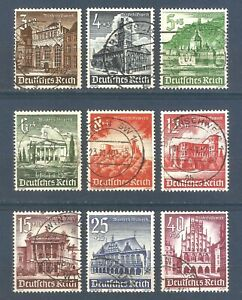 DR-Nazi-3rd-Reich-Rare-WW2-Stamp-Castle-Tower-Church-Residence-Palace-Winter-Aid