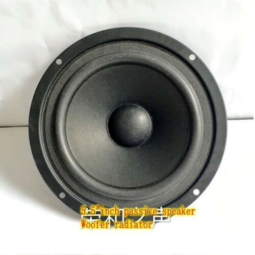 """2pcs 5.5/""""inch Bass radiator passive speaker Auxiliary woofer Home Audio Part"""