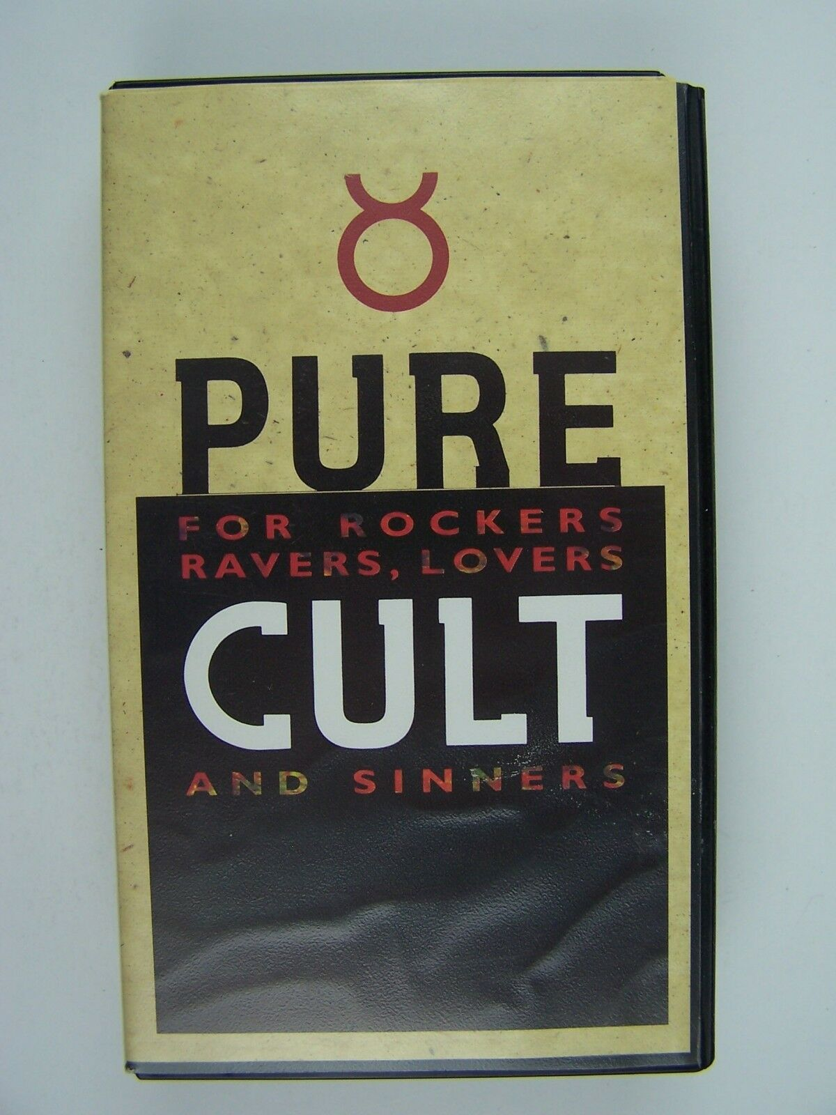 Pure Cult: For Rockers, Ravers, Lovers and Sinners VHS