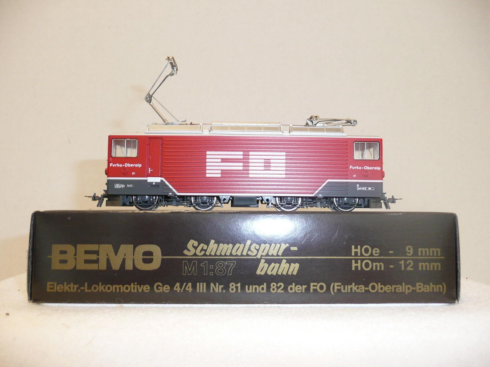 Bemo Hom 1260 201 FO Ge 4  4 elektriskt lok.NIB