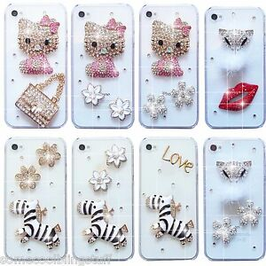 NEW-3D-CLEAR-KITTY-BLING-DELUX-DIAMANTE-SPARKLE-CASE-COVER-APPLE-iPHONE-6S-7-8-X