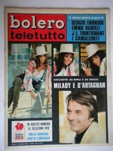 Bolero-1176-Presley-Camaleonti-Paturel-Trintignant-Andre-Danieli-Lualdi-Pagano