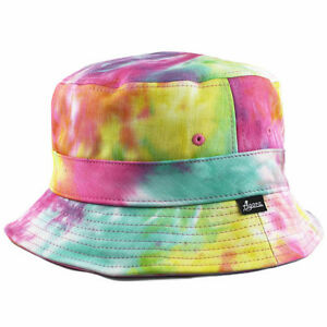 Agora Tie-Dye Bucket Hat Cap 5 panel schoolboy-q TDE NEW  d2bb4af9846