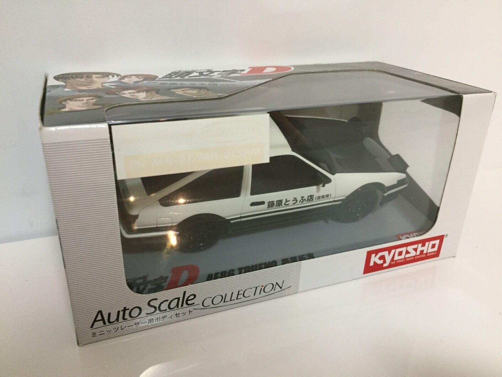 Nuevo Super Muy Raro Kyosho Mini-Z Racer cuerpo AE86 Trueno inicial-D BRILLO Abrigo