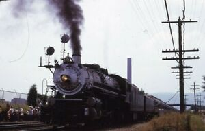 SOUTHERN-Railroad-Steam-Locomotive-Train-Original-1973-Photo-Slide