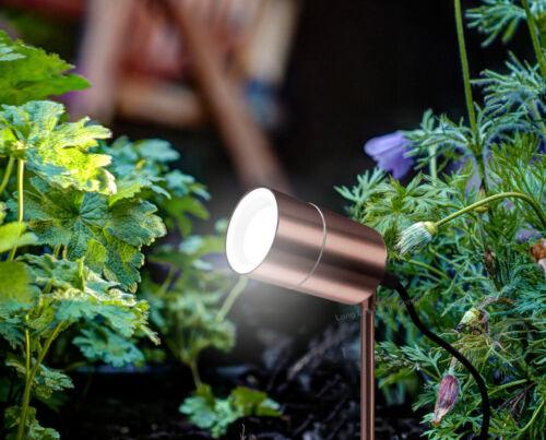Moderne Extérieur Jardin Sol Spike lumière Cuivre Acier Inoxydable ZLC0203C