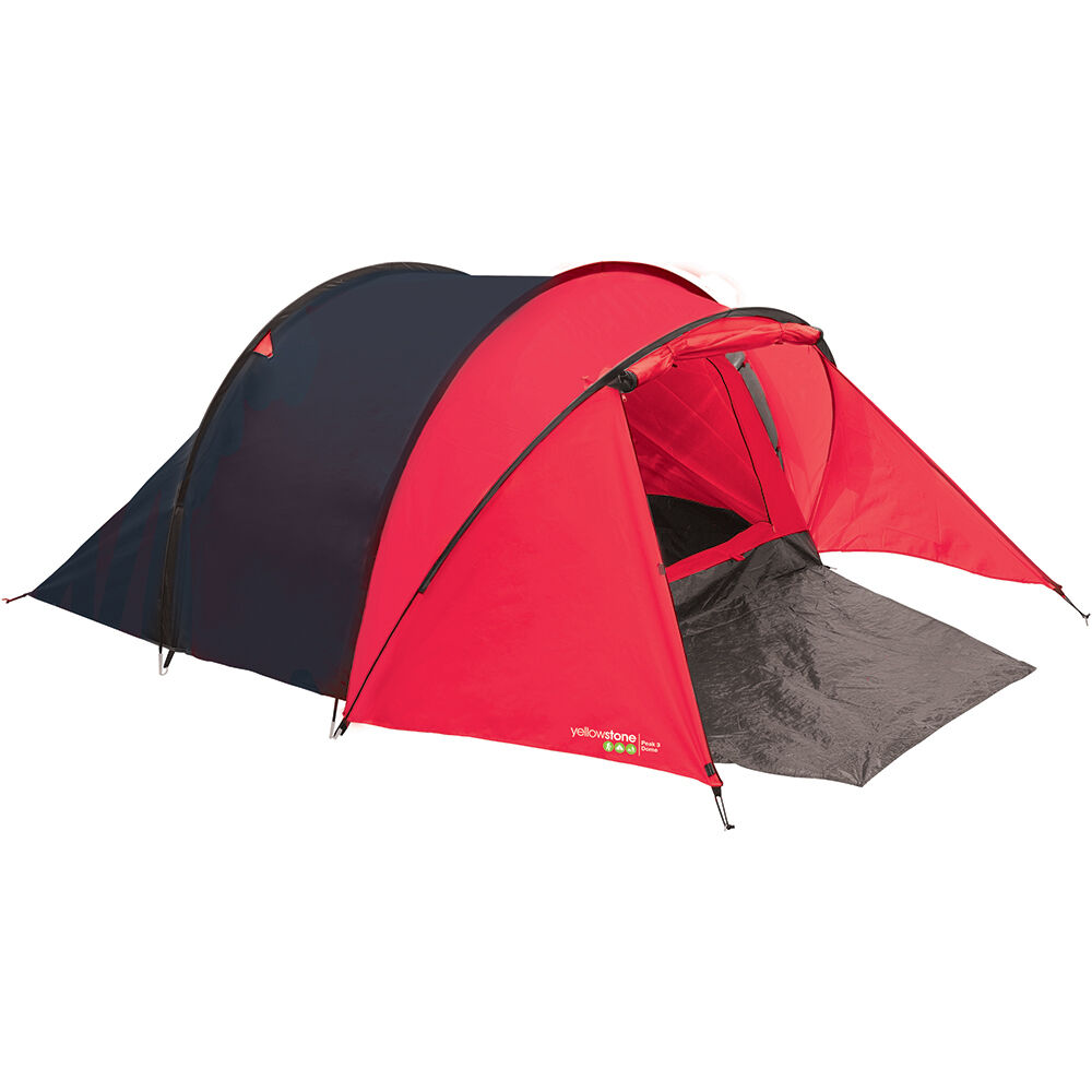 TENT PEAK PORCH 3 PERSON CAMPING BEACH FESTIVAL HIKING HIKING HIKING SHELTER MARQUEE CAMP ROT 3f53be