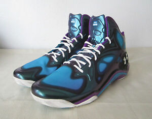 33de29f7 Details about Under Armour Anatomix Spawn Showcase Edition sz 18 New  Basketball shoes Hornets