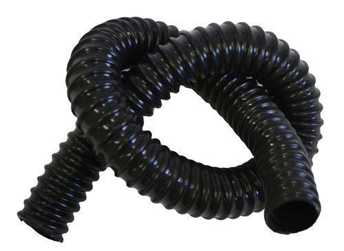 Marine Flexible Hose 32mm x 20m Black Dust Extraction Ducting Bilge Pump Cable