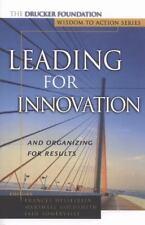 J-B Leader to Leader Institute/PF Drucker Foundation Ser.: Leading for...