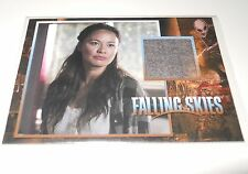 Falling Skies Season 2 Premium Moon Bloodgood Costume Trading Card 081/375 #CC20