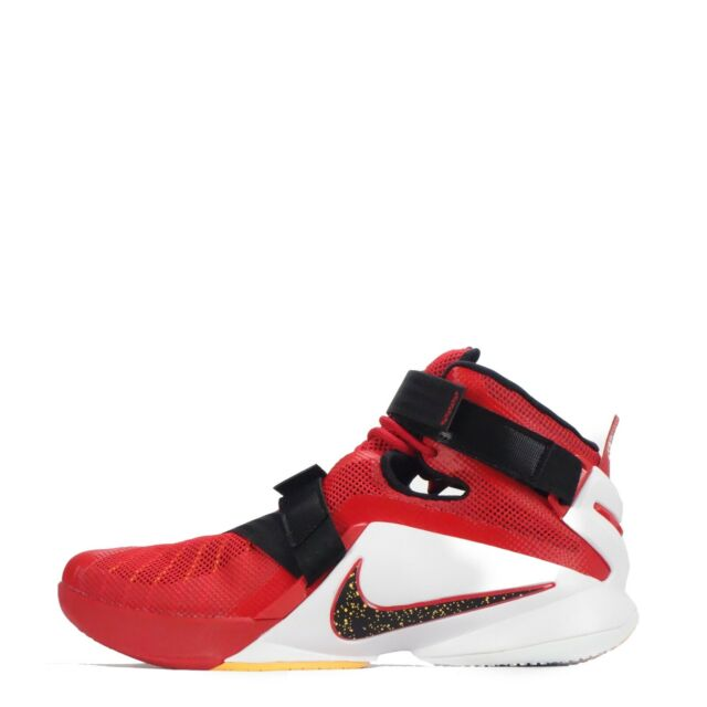 online store 0aa00 41ca2 Nike Lebron Soldier Men s Basketball Shoes, Red White